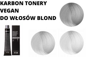 KARBON TONERY VEGAN DO WŁOSÓW BLOND