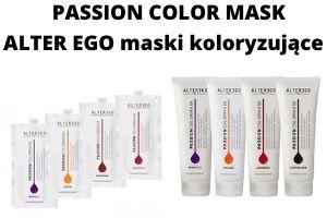 PASSION COLOR MASK Alter Ego maski koloryzujące